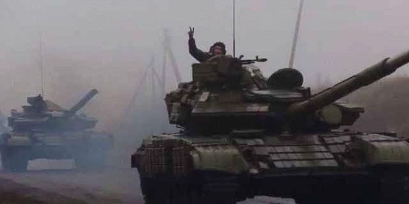 Оккупанты готовятся к танковому наступлению на Бахмутке