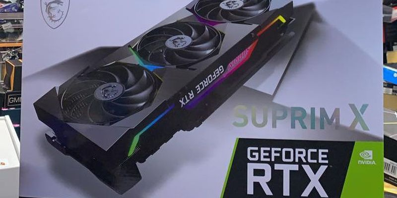 Видеокарту GeForce RTX 3080 Ti уже можно купить за 3500 долларов