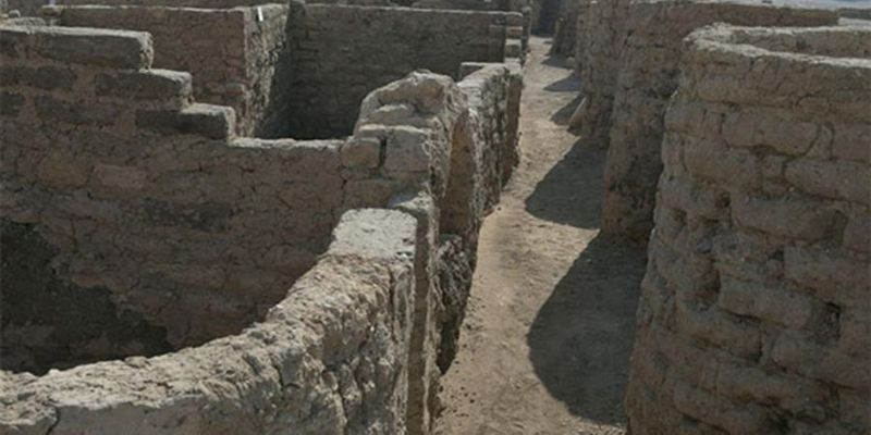 В Египте нашли скрытый под песком трехтысячелетний город