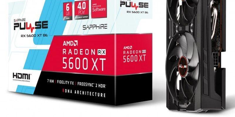 Відеокарта SAPPHIRE Radeon RX 5600 XT Pulse BE: компактна і швидка