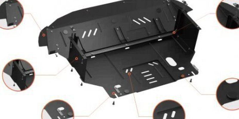 Кольчуга — найкращий захист двигуна, картера, піддона та днища авто